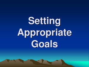 Quotes About Meeting Goals