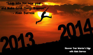 Leap Into The New Year and Make Good Things Happen