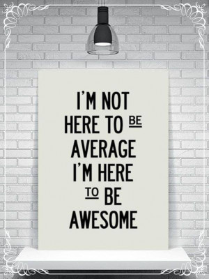 is for awesome