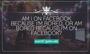 Clever Facebook Status Quotes