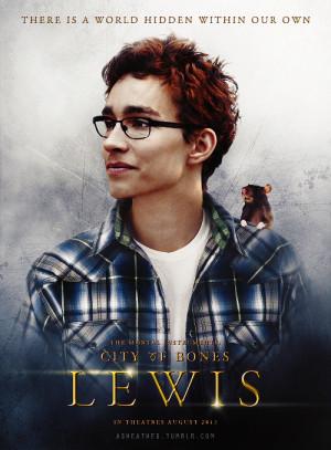 Simon Lewis character poster