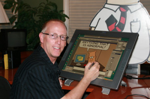 Scott Adams, graphic artist