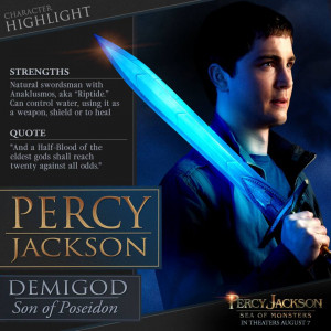 Percy Jackson Movie Prize Pack #Giveaway