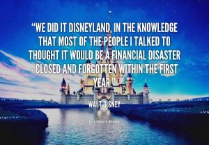 Disneyland Quotes Sayings