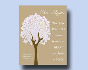 ... end of year teacher gift, Thank You gift teacher, Teacher Retirement