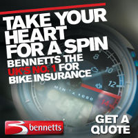 Get a Bike Insurance Quote with Bennetts– the UK's no.1