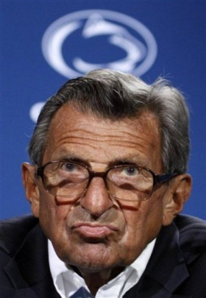 joe paterno salary
