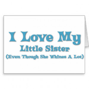 Funny Sister Sayings Cards & More