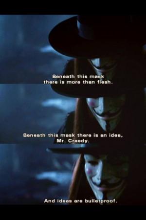 for Vendetta.
