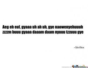 Skrillex Quote