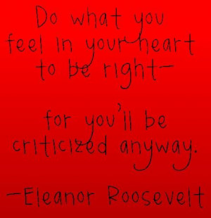 Red Heart Quote