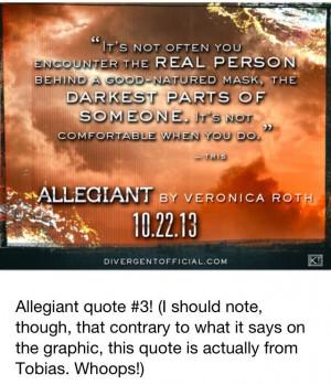 allegiant quotes