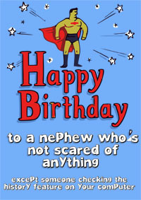 Nephew Birthday Card