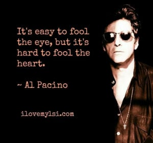 Al Pacino quote!! One of my all time favorite quotes! Aline ♥