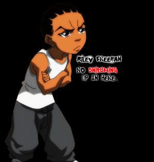 Huey Freeman And Riley Freeman Riley freeman by