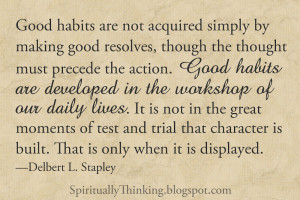 Quotes Good Habits Pictures