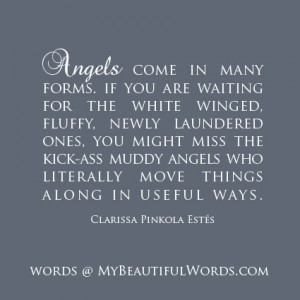 Angels Come in Many Forms...