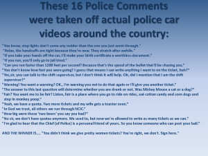 16 Police Comments - Actual funny quotes from Police