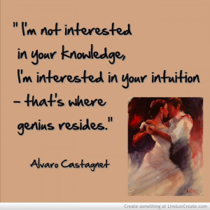 Adironnda Alvaro Castagnet Intuition