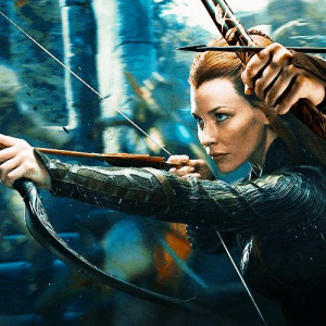 Tauriel from The Hobbit: The Desolation of Smaug.
