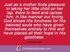 Quotes From Alphonsus Liguori