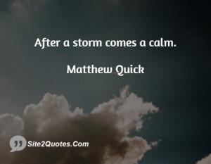 Inspirational Quotes - Matthew Quick