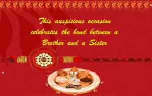 ... The Bond Between A Brother And A Sister - Happy Raksha Bandhan