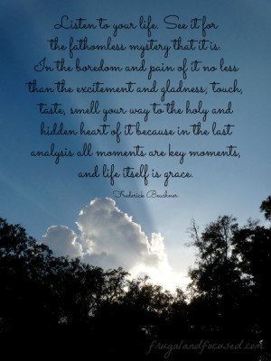 31 Days of Encouraging Quotes – Life Itself Is Grace