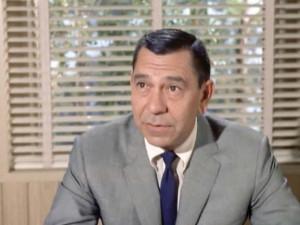 The late Jack Webb as Sgt. Joe Friday on Dragnet .