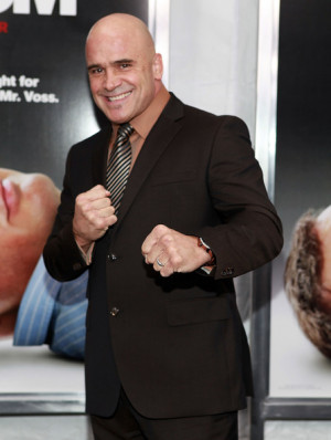 Bas Rutten Attends The Here...