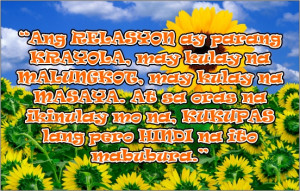 Tagalog Quotes About Relationship - Crayons