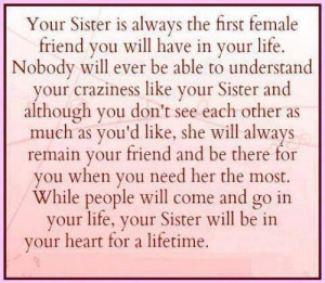 Best Quote For Sisters With Picture