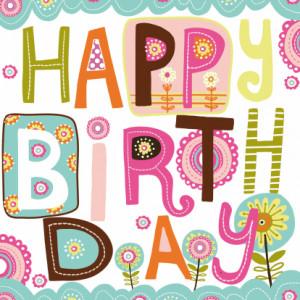 Happy Birthday tekst 1