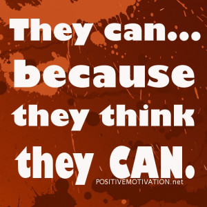 ... CAN… Positive thoughts of the day about positive thinking JULY 1