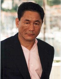 Takeshi Kitano a Cannes, 2000