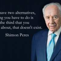 Inspirational Quotes: Shimon Peres about Dreams and Age