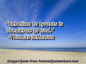 Obedience Quotes – Obey Quotes – Obedient - Quote - Rebellion to ...