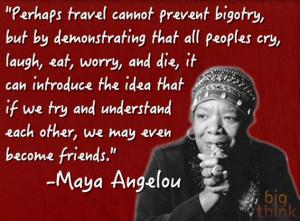 Maya Angelou on Empathy
