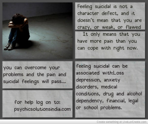 Quotes About Overcoming Suicidal Thoughts Quotes about o