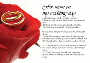 Wedding Day Quotes For The Bride And Groom Of bride on wedding day