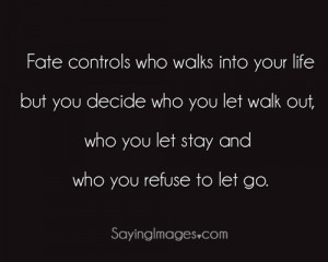 Who You Refuse To Let Go