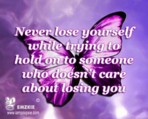 Never Lose Yourself Trying