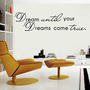 HOT SALE! DIY Removable Art Vinyl Quote Wall Sticker Decal Mural Home ...