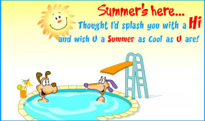 Cool Summer' here children summer quotes