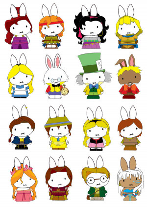 bunny, characters, cute, disney, generation miffy