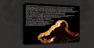 Details about SHAWSHANK REDEMPTION MOVIE QUOTE CANVAS PRINT POP ART