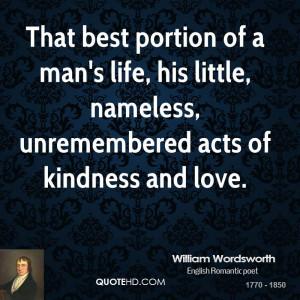 William Wordsworth Love Quotes