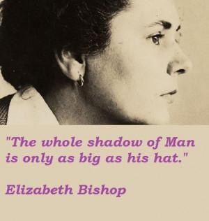 Elizabeth bishop quotes 2