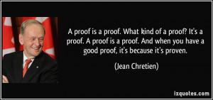 More Jean Chretien Quotes