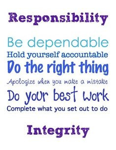 responsibility quotes quotes of inspiration for students quotes of ...